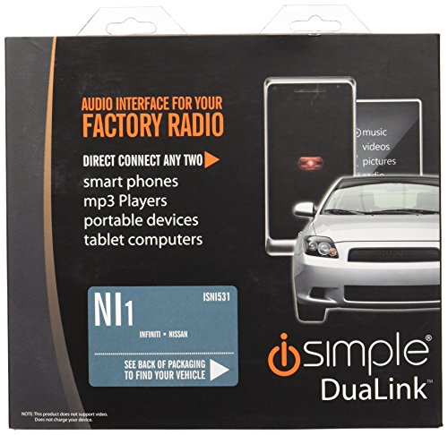 iSimple IS335 Dash Mountable Auxiliary Input Adapter – NewCabler