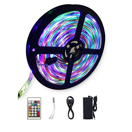 Flexible LED Light Strip, SDlife Waterproof Flicker Color