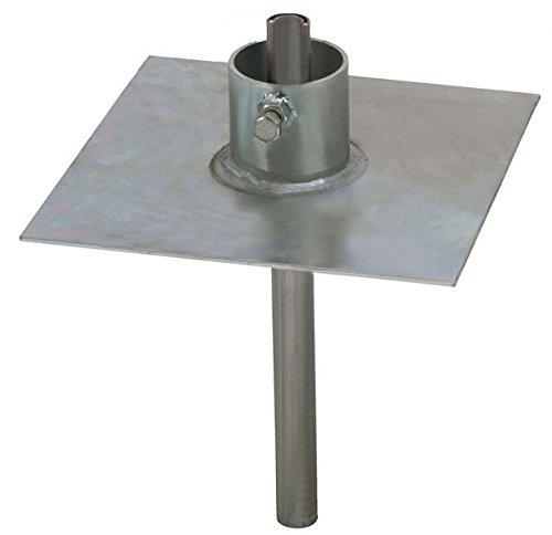 Easy Up 20′ 9″ Telescoping Mast -TV WIFI HAM Antenna Push Up Pole
