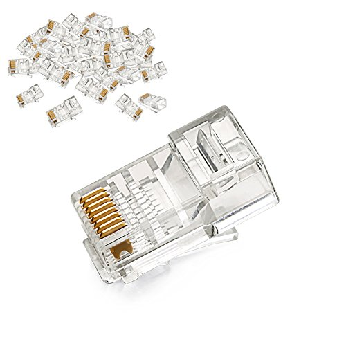 ugreen rj45 connector cat5e cat5 crimp modular connector