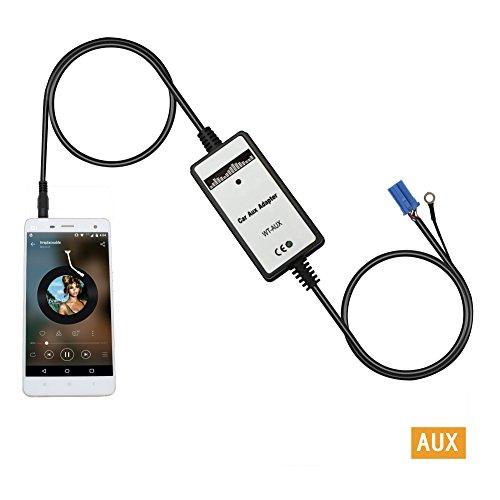 Auxillary Adapter Yomikoo Car Radio Mp3 Wma Usb Music: Aux Interface,Yomikoo Car Mp3 Player Audio Input Auxillary