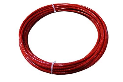 Loos Stainless Steel 302 304 Wire Rope Vinyl Coated 7 215 19