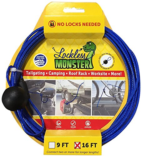 Lockless Monster 16 3 32 X 16 Theft Deterrent Cable No