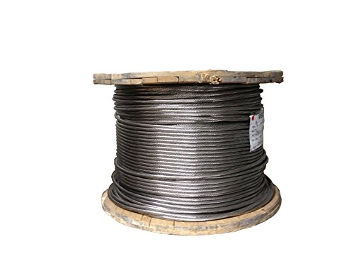 Cable 5 32 1 215 19 Stainless Steel Cable T304 250 Foot Reel