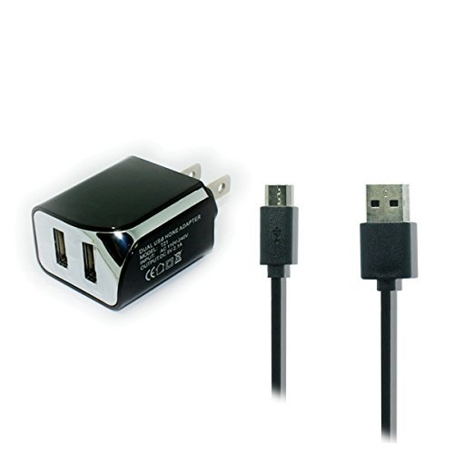 Long 10-FT USB Power Cable Charger for Amazon Kindle, Fire Tablet
