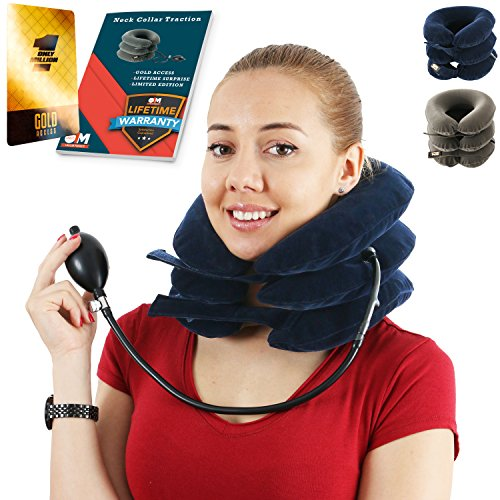Neck Traction Collar For Men And Women Cervical Brace