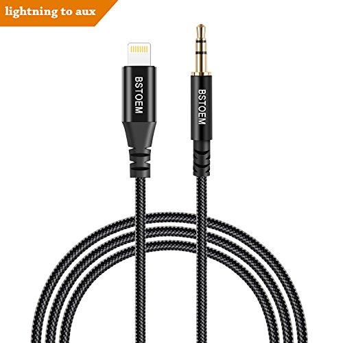 Lightning To 3 5mm Male: Lightning To 3.5mm Male Aux Audio Cable Car Aux Cord For