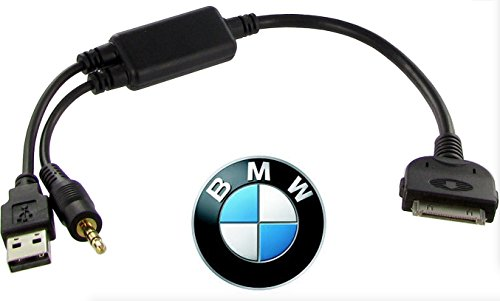 Audio Music Charging Cable Adapter Oem Usb Aux For Bmw