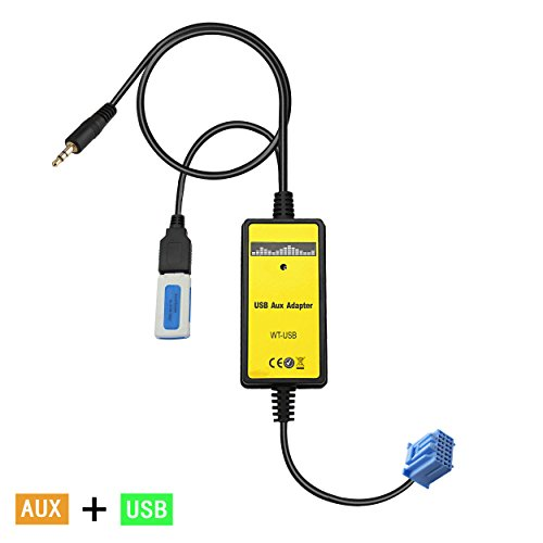 Yomikoo USB AUX Adapter, Car Radio Digital CD Changer 3